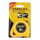 Stanley Beyaz Şeritli Metre 5mx19mm