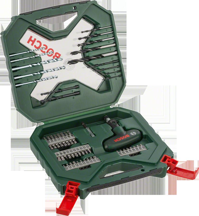 Bosch - X-Line 54 Parça Cırcır El Tornavidalı Karışık Aksesuar Seti