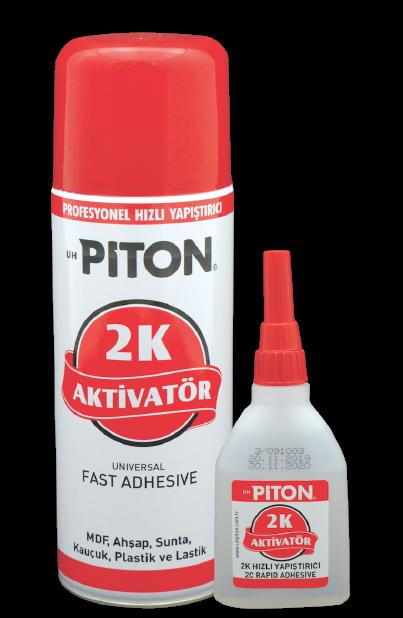 Piton 2K Hızlı Yapıştırıcı 45gr + 200ml Aktivatör